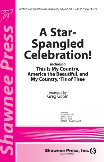 The Star-Spangled Banner : SSA : Greg Gilpin : Francis Scott Key : Sheet Music : 35000106 : 747510074915