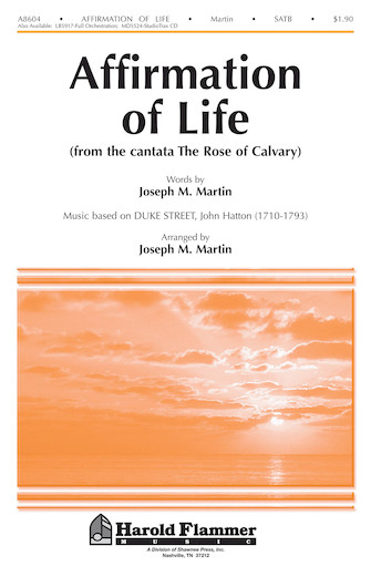 Product Cover for Affirmation of Life (from Rose of Calvary)