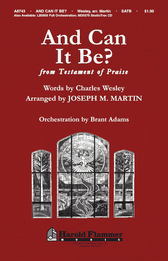 Product Cover for And Can It Be? (from Testament of Praise)
