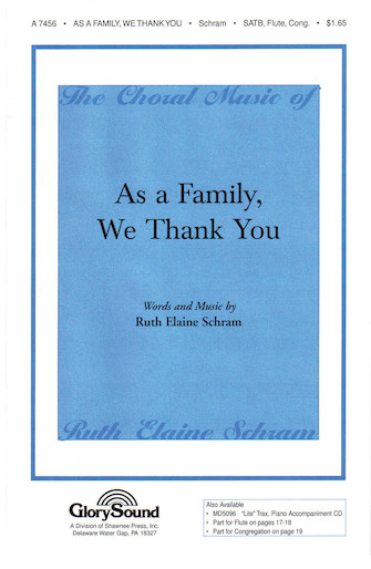 Product Cover for As a Family, We Thank You