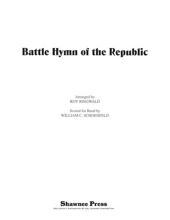 Product Cover for Battle Hymn of the Republic