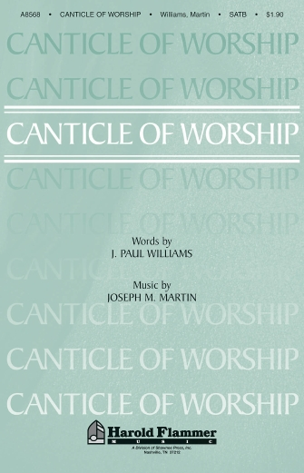 Product Cover for Canticle of Worship
