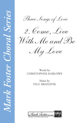 Product Cover for Come, Live with Me and Be My Love (from Three Songs of Love)