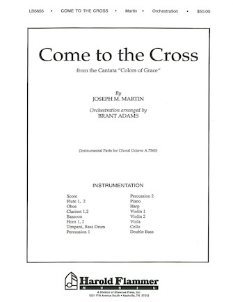 Product Cover for Come to the Cross (from Colors of Grace)
