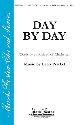Day by Day : SATB : St. Richard of Chichester : St. Richard of Chichester : Sheet Music : 35005141 : 747510182696
