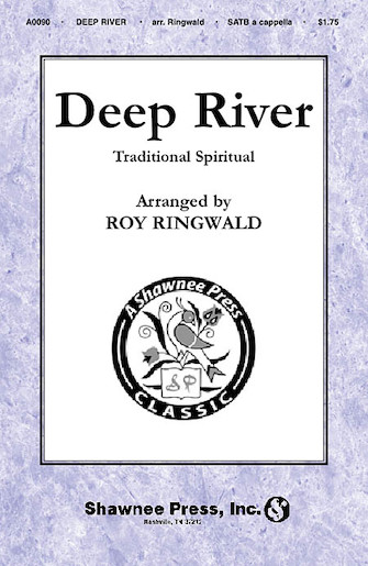 Deep River : SATB : Roy Ringwald : Sheet Music : 35005231 : 747510018261