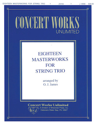 Product Cover for Eighteen Masterworks for String Trio