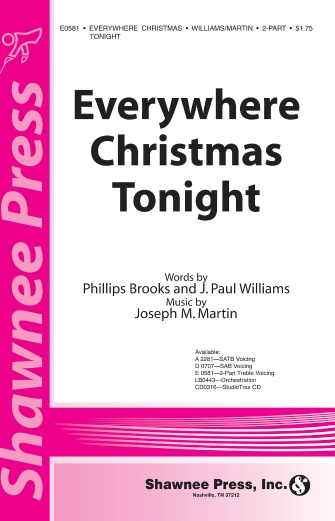 Product Cover for Everywhere Christmas Tonight