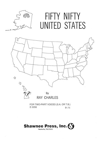 Fifty Nifty United States : 2-Part : Ray Charles : Ray Charles : Sheet Music : 35006682 : 747510001676