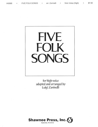 Product Cover for Five Folk Songs