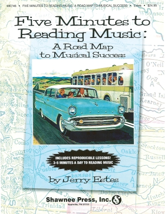 Product Cover for Five Minutes to Reading Music – A Roadmap to Musical Success