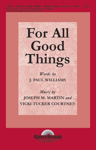 Product Cover for For All Good Things