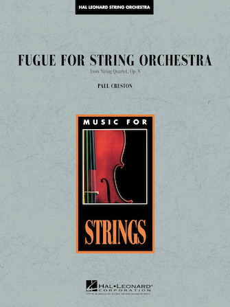 Product Cover for Fugue for String Orchestra (from String Quartet, Op. 8)