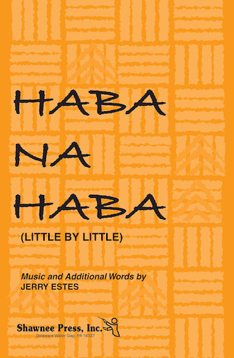 Product Cover for Haba Na Haba (Little by Little) 2-Part