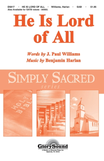 Product Cover for He Is Lord of All