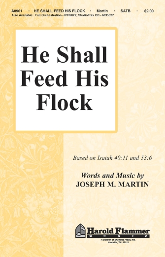 Product Cover for He Shall Feed His Flock
