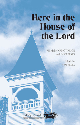 Product Cover for Here in the House of the Lord