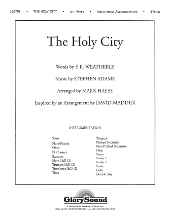 Product Cover for The Holy City