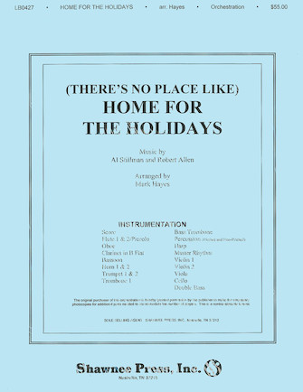 Product Cover for (There's No Place Like) Home for the Holidays