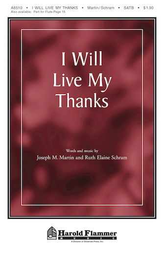 Product Cover for I Will Live My Thanks