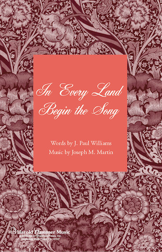 Product Cover for In Every Land Begin the Song (from Canticle of Joy)