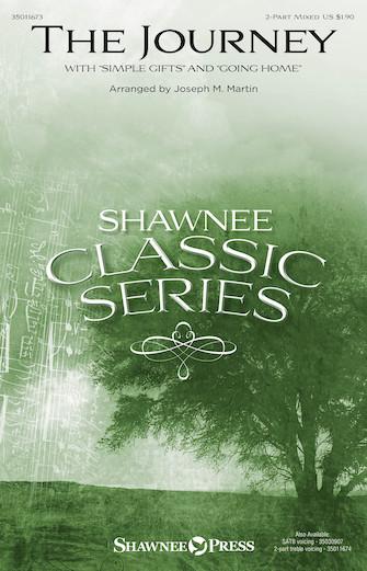 The Journey : 2-Part : Joseph Martin : Traditional Shaker Melody : Sheet Music : 35011673 : 747510015895