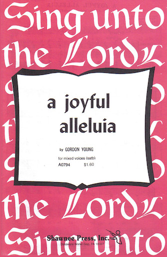 Product Cover for A Joyful Alleluia