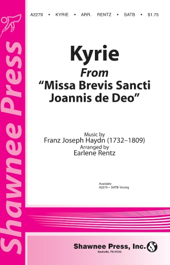 Product Cover for Kyrie (from Missa Brevis Sancti Joannis de Deo)