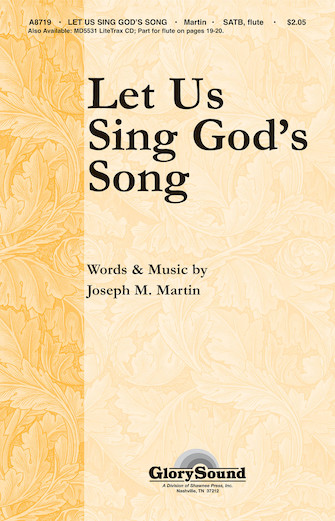 Product Cover for Let Us Sing God's Song