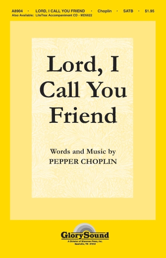 Product Cover for Lord, I Call You Friend