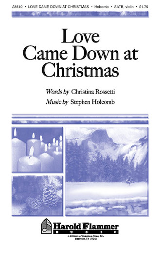 Product Cover for Love Came Down at Christmas