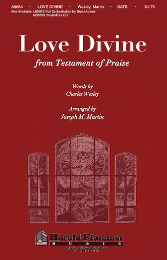 Product Cover for Love Divine (from Testament of Praise)