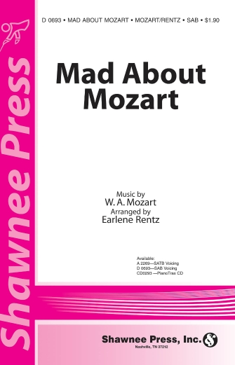 Product Cover for Mad About Mozart