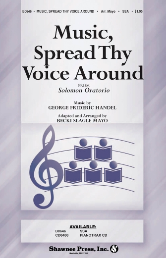 Product Cover for Music, Spread Thy Voice Around