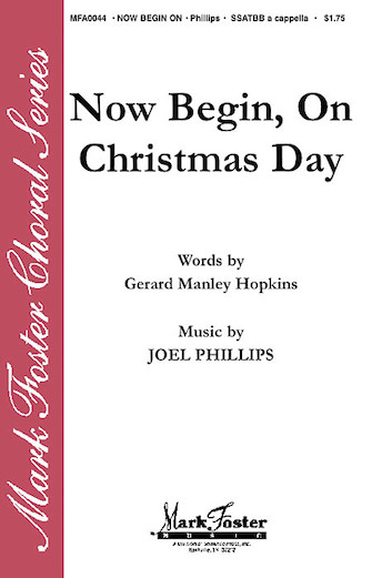 Now Begin, On Christmas Day : satb : 35015363 : Sheet Music : 35015363 : 747510187356