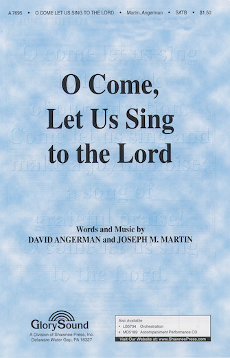 Product Cover for O Come Let Us Sing to the Lord