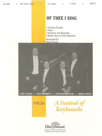 Of Thee I Sing 4 Piano (4-Book Set)