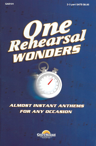 One Rehearsal Wonders, Volume 1
