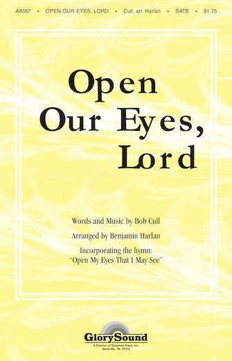"""Product Cover for Open Our Eyes, Lord (with """"Open My Eyes That I May See"""")"""