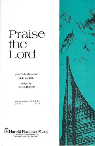 Product Cover for Praise the Lord (from Judas Maccabeus)