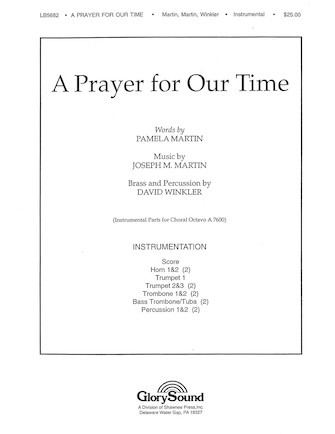 Product Cover for A Prayer for Our Time