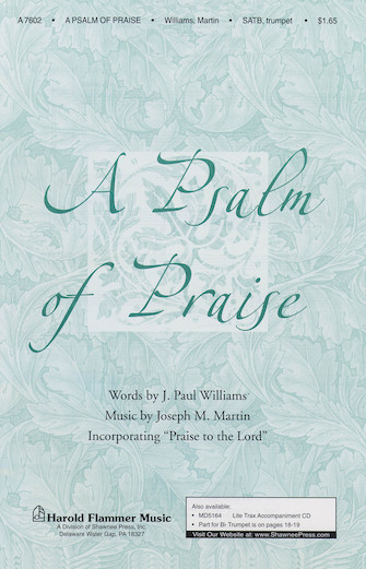 Product Cover for A Psalm of Praise