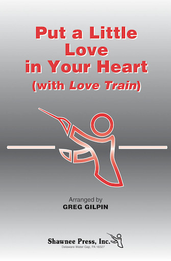 "Product Cover for Put a Little Love in Your Heart (with ""Love Train"")"