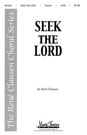 Product Cover for Seek the Lord