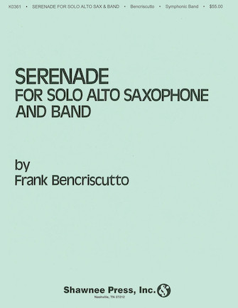Serenade for Solo Alto Saxophone and Band