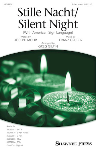 Product Cover for Stille Nacht/Silent Night (with American Sign Language)