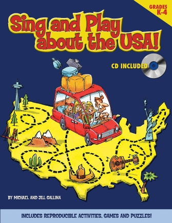 Product Cover for Sing and Play About the USA!