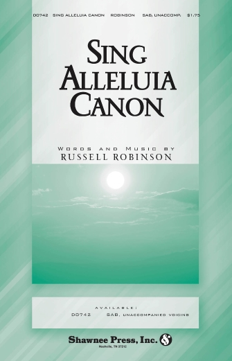 Product Cover for Sing Alleluia Canon