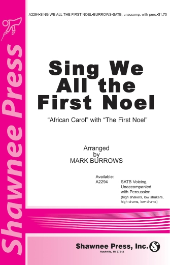 Product Cover for Sing We All the First Noel
