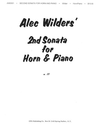 Product Cover for Sonata No. 2 for Horn and Piano